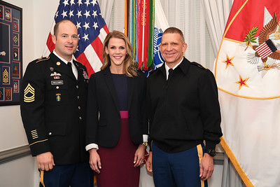 Master Sgt. Williams Honoree Media Day