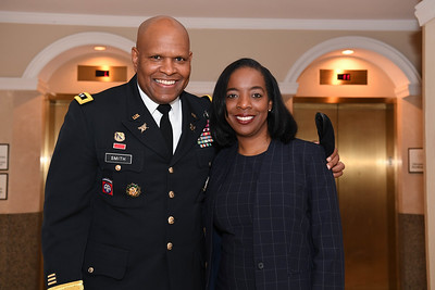 U.S. Army Master Sgt. Williams Arrival