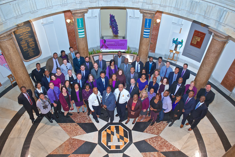 October 21, 2019 - Domestic Violence Awareness Month Mayor's Office Staff Photograph