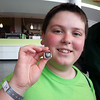 AJ with Hank Bullough's Superbowl ring.