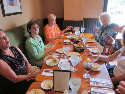 Howard and Janice's Birthday Luncheon 7 August 2013