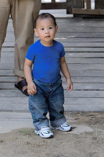 Azmi's little boy.