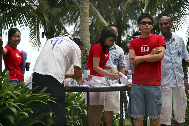 Registration for participants and vehicles.