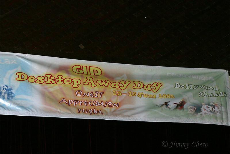 GID Desktop Away Day banner.