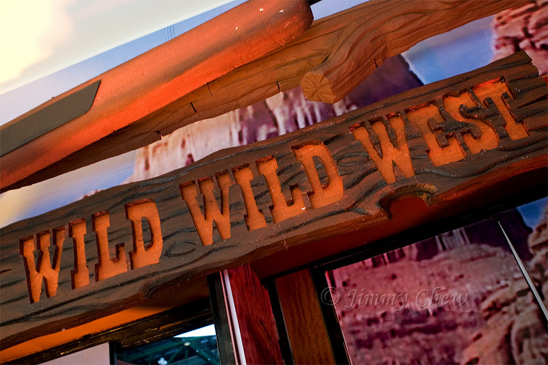 Wild Wild West - the theme for the dinner.