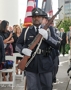 The Capitol Police Color Guard