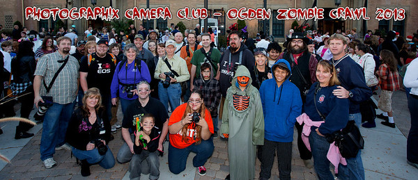 Zombie Crawl Group 2013
