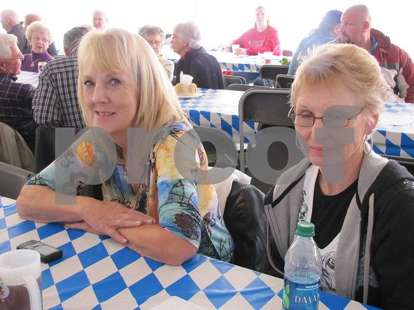 Barb Messerly and Marilyn McCubbin