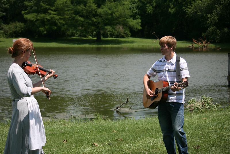 Nicole and Chris play for us.