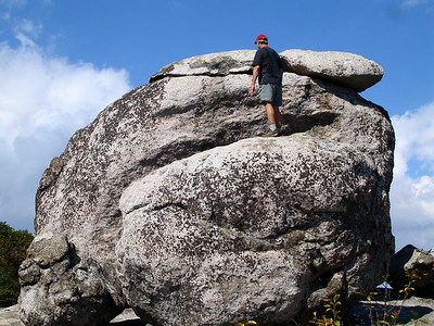 """""""How would John get to the top of this rock?"""""""