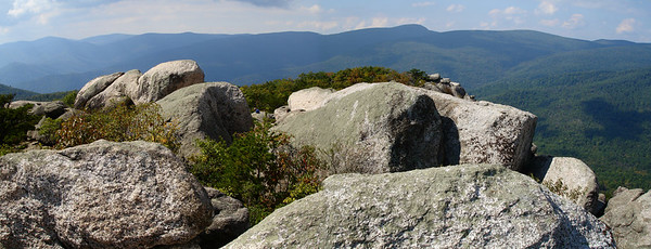 Old Rag from the very top.