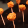 Fried Mac-N-Cheese Lollipops