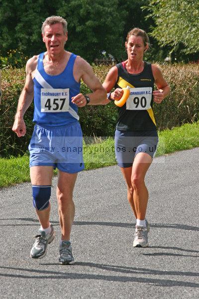 bib90 bib457 Thornbury Running Club - Oldbury 10 Jeff Arthur
