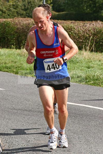 bib440 Thornbury Running Club - Oldbury 10 Jeff Arthur