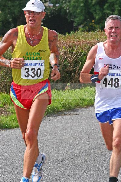 bib330 bib448 Thornbury Running Club - Oldbury 10 Jeff Arthur
