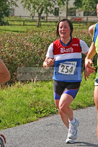 bib254 Thornbury Running Club - Oldbury 10 Jeff Arthur