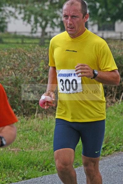 bib300 Thornbury Running Club - Oldbury 10 Jeff Arthur