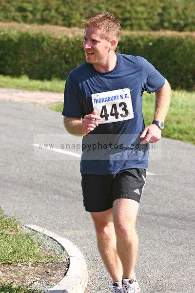 bib443 Thornbury Running Club - Oldbury 10 Jeff Arthur