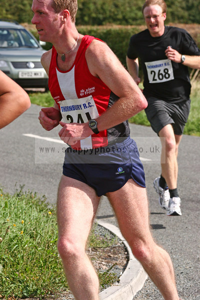 bib268 Thornbury Running Club - Oldbury 10 Jeff Arthur