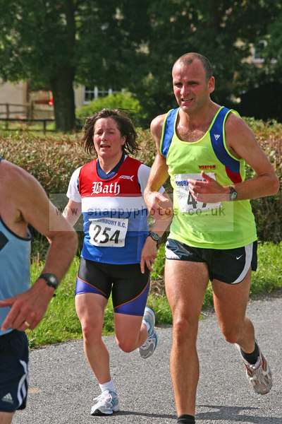 bib254 Thornbury Running Club - Oldbury 10 Jeff Arthur
