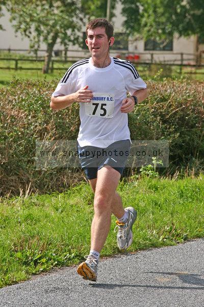 bib75 Thornbury Running Club - Oldbury 10 Jeff Arthur