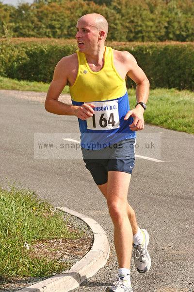 bib164 Thornbury Running Club - Oldbury 10 Jeff Arthur