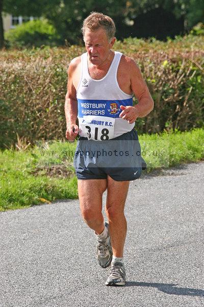bib318 Thornbury Running Club - Oldbury 10 Jeff Arthur