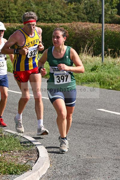 bib397 Thornbury Running Club - Oldbury 10 Jeff Arthur