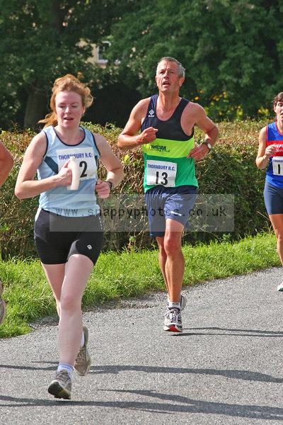 bib13 Thornbury Running Club - Oldbury 10 Jeff Arthur