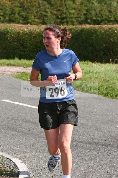 bib296 Thornbury Running Club - Oldbury 10 Jeff Arthur