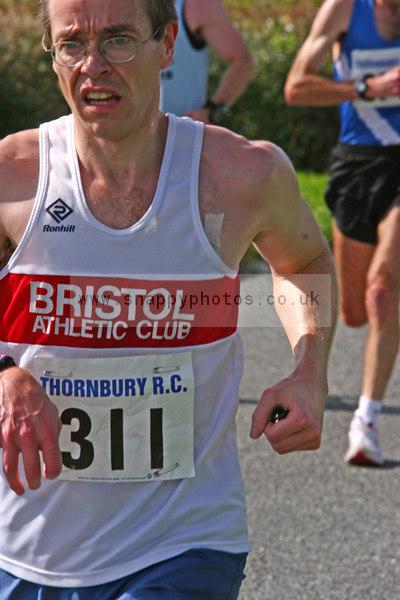 bib311 Thornbury Running Club - Oldbury 10 Jeff Arthur