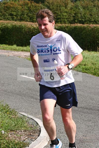 bib6 Thornbury Running Club - Oldbury 10 Jeff Arthur