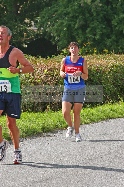 bib104 Thornbury Running Club - Oldbury 10 Jeff Arthur