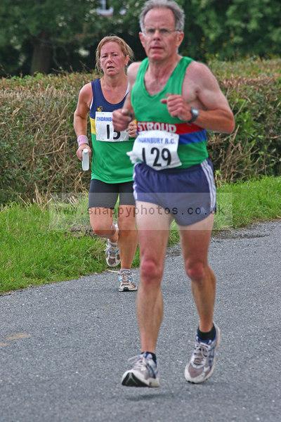bib129 Thornbury Running Club - Oldbury 10 Jeff Arthur