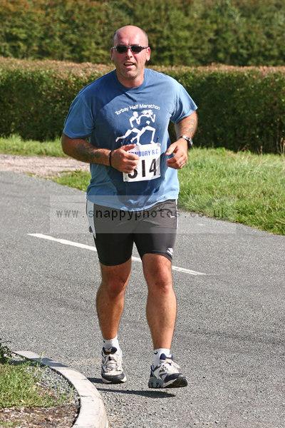 bib314 Thornbury Running Club - Oldbury 10 Jeff Arthur