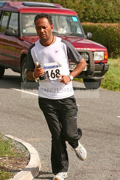 bib468 Thornbury Running Club - Oldbury 10 Jeff Arthur