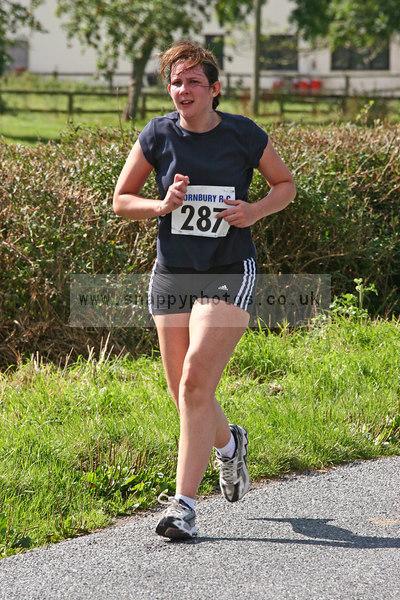 bib287 Thornbury Running Club - Oldbury 10 Jeff Arthur