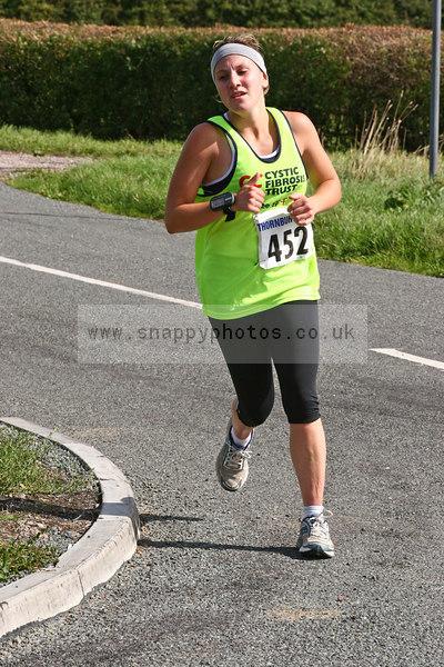 bib452 Thornbury Running Club - Oldbury 10 Jeff Arthur