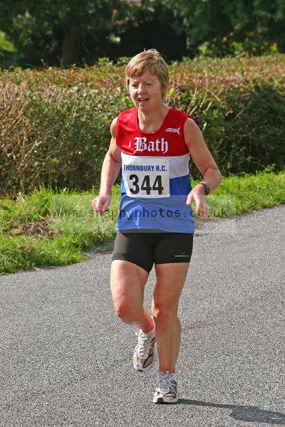bib344 Thornbury Running Club - Oldbury 10 Jeff Arthur