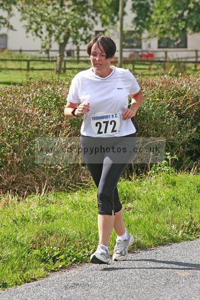 bib272 Thornbury Running Club - Oldbury 10 Jeff Arthur