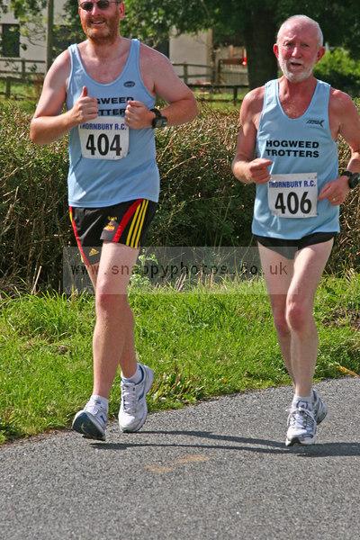 bib404 bib406 Thornbury Running Club - Oldbury 10 Jeff Arthur