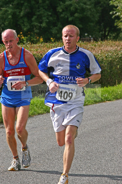 bib409 Thornbury Running Club - Oldbury 10 Jeff Arthur