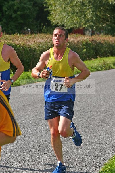 bib27 Thornbury Running Club - Oldbury 10 Jeff Arthur