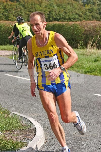 bib366 Thornbury Running Club - Oldbury 10 Jeff Arthur