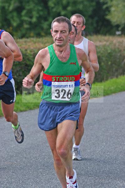 bib236 Thornbury Running Club - Oldbury 10 Jeff Arthur