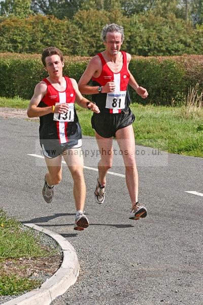bib81 bib131 Thornbury Running Club - Oldbury 10 Jeff Arthur