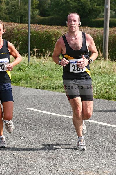 bib281 Thornbury Running Club - Oldbury 10 Jeff Arthur