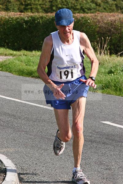bib191 Thornbury Running Club - Oldbury 10 Jeff Arthur