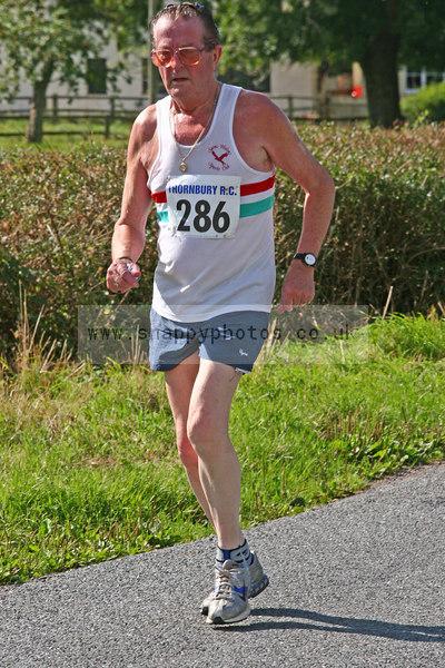 bib286 Thornbury Running Club - Oldbury 10 Jeff Arthur