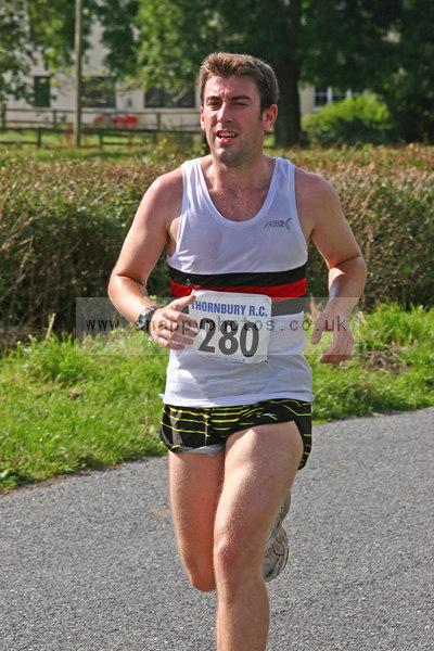 bib280 Thornbury Running Club - Oldbury 10 Jeff Arthur